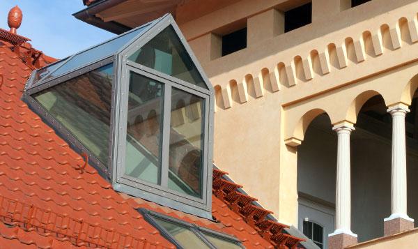 Bauplanung Luxia Lines Dachfenster Dachwohnfenster Lichtgauben
