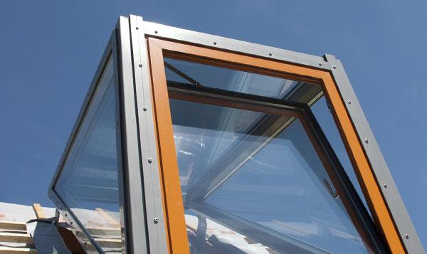 Einbau Luxia Lines Dachfenster Dachwohnfenster Lichtgauben
